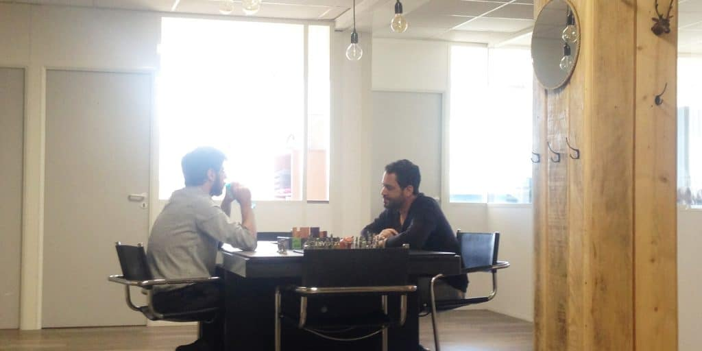 game at Coolwork- a coworking space in France